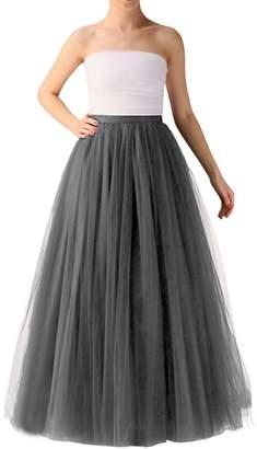 Wedding Planning Long Tutu Tulle Skirt A Line Floor Length Skirts