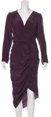 Chris Benz Silk Midi Dress