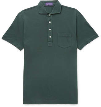 Ralph Lauren Purple Label Cotton-Piqué Polo Shirt