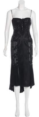 Ungaro Embellished Silk Dress