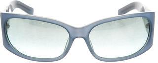 Miu MiuMiu Miu Logo-Embellished Reflective Sunglasses