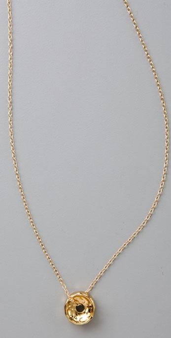 Gorjana Bronson Hammered Necklace