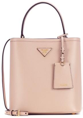 3a8ea2933bda Prada Panier Medium leather shoulder bag