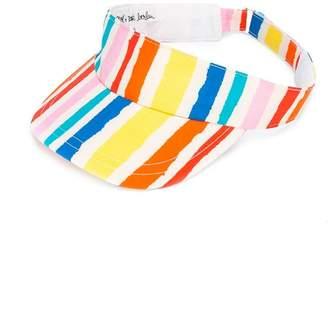 Noë & Zoe striped visor