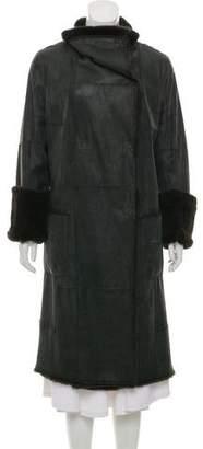 Sylvie Schimmel Double-Breasted Long Coat