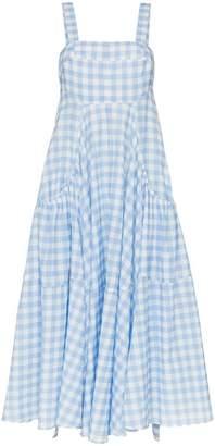 Lee Mathews Clara gingham print apron sundress