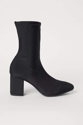 H&M Sock-style court shoes