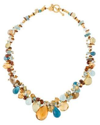 Laura Gibson Gemstone Briolette Necklace
