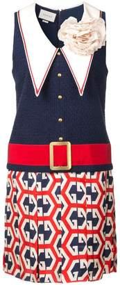 Gucci bow detail dress