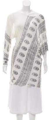 Yigal Azrouel Off-The-Shoulder Patterned Top