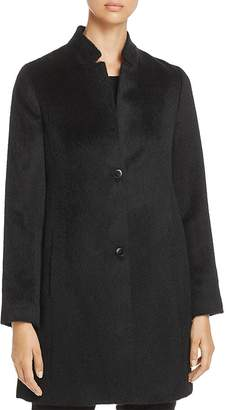 Eileen Fisher Notch Collar Coat $698 thestylecure.com
