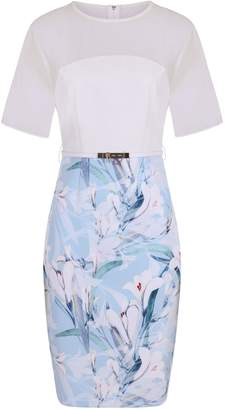 Dorothy Perkins Womens **Paper Dolls Blue Bodycon Dress
