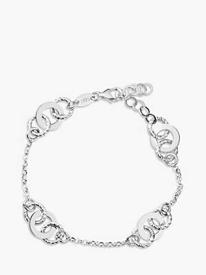 Links of London Aurora Link Chain Bracelet, Silver