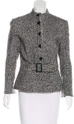 Valentino Wool Button-Up Jacket