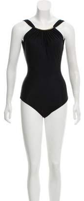 Lenny Niemeyer Gathered One-Piece Swimsuit w/ Tags