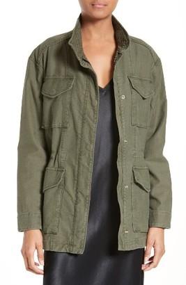 Women's Vince Military Jacket $425 thestylecure.com