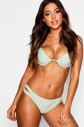 boohoo Moulded Push Up Underwired Bikini