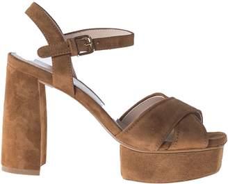 Stuart Weitzman Classic Platform Sandals