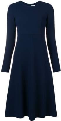 P.A.R.O.S.H. long sleeve flared dress