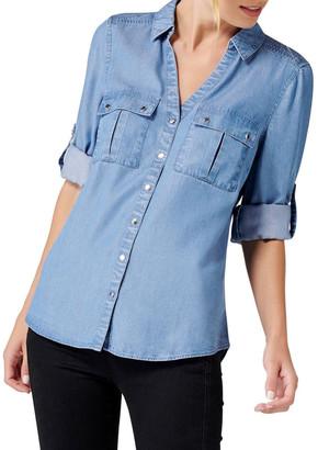 Forever New Lola Denim Utility Shirt