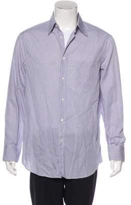 Brunello Cucinelli Checkered Casual Shirt