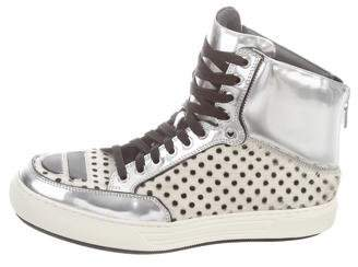 Alejandro Ingelmo Jeddi High-Top Sneakers