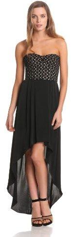 BCBGMAXAZRIA Women's Tess Strapless Bustier Dress