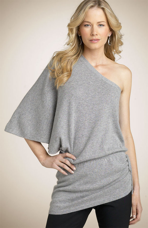 Karoo Mark Eisen One Shoulder Tunic