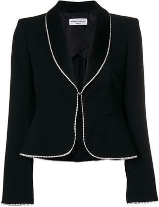 Sonia Rykiel crystal trimmed blazer