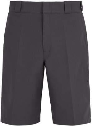 Prada Logo-embellished pleat-detail tailored shorts