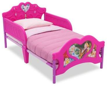 DisneyDelta Children Disney Princess 3d Plastic Toddler Bed in Pink