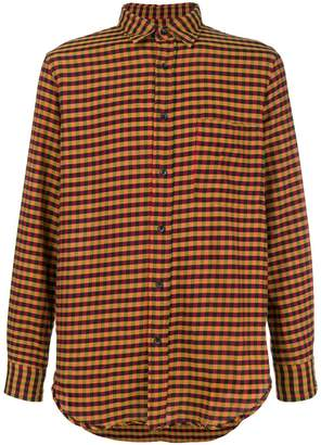 Mauro Grifoni gingham casual shirt