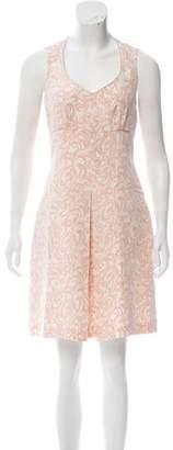 Mayle Silk Printed Mini Dress