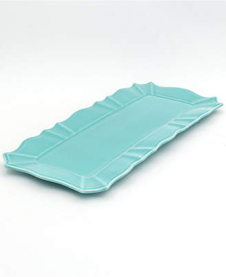 Chloé EuroCeramica Turquoise Rectangular Tray