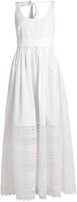 NO. 21 Macramé-lace hem cotton dress $650 thestylecure.com