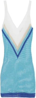 My Beachy Side Penelope Crochet Mini Dress
