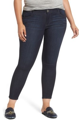 Plus Size Women's Wit & Wisdom Ab-Solution Ankle Skimmer Jeans $78 thestylecure.com