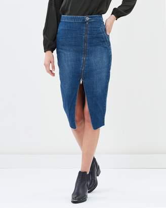 One Teaspoon Reformer High Waist Skirt