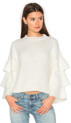Endless Rose Exaggerated Sleeve Sweater $83 thestylecure.com