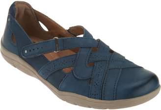 Earth Origins Leather Slip-On Shoes- Rapid Teddy