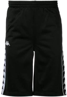 Kappa logo track shorts