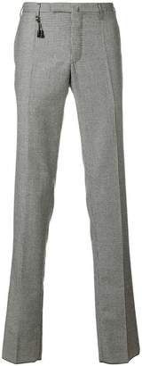 Incotex houndstooth check trousers