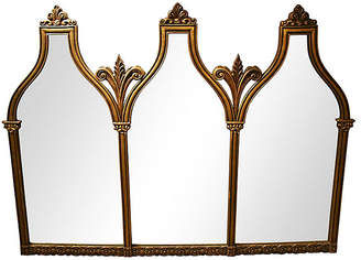 One Kings Lane Vintage Oversize Italian Arch-Top Mirror - brunelli designs inc