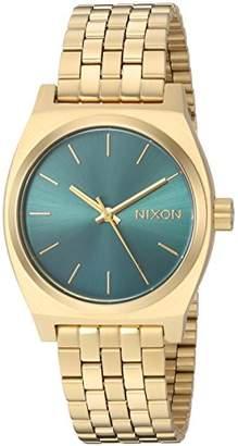 Nixon Women's 'Medium Time Teller' Quartz Stainless Steel Casual Watch