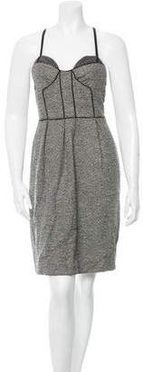 Proenza Schouler Wool Bustier Dress