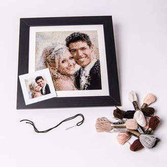 Your Own Stitchme Stitch Tapestry From Your Wedding Photo