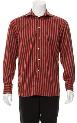 Eton Striped Dress Shirt