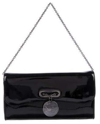 Christian Louboutin Patent Leather Riviera Clutch