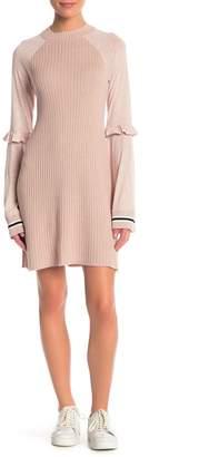 Free People Zou Bisou Knit Mini Dress