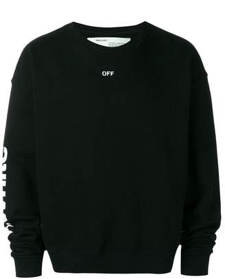 Off-White multi print sweatshirt